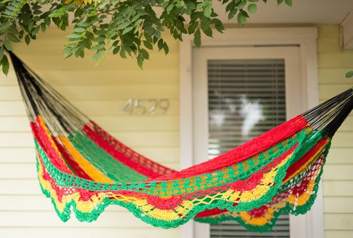 Rasta Colors Hammock